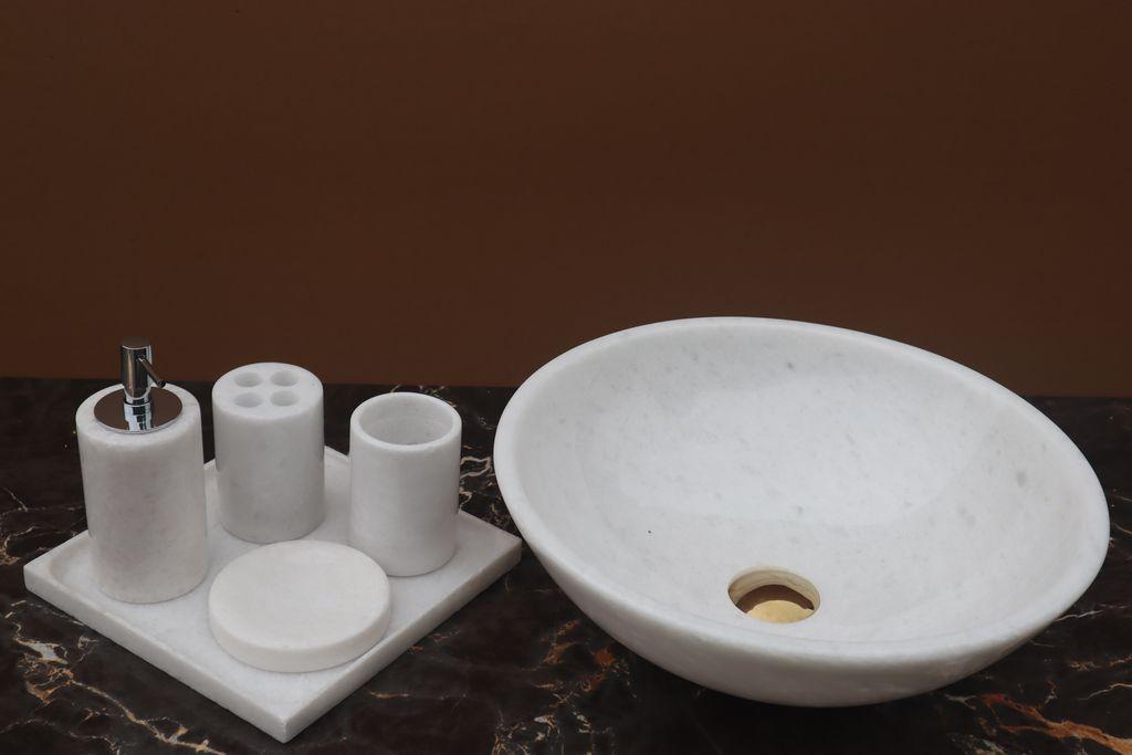 Chậu rửa lavabo đá tự nhiên BST33A