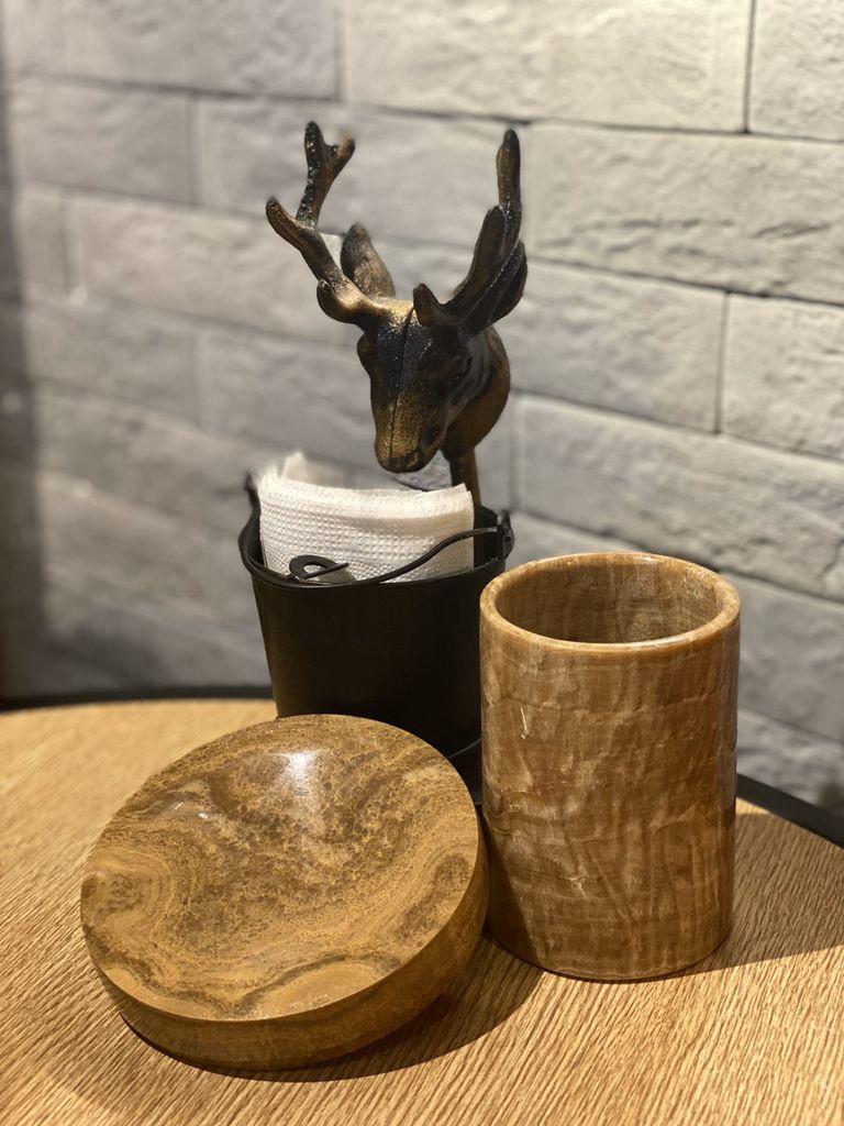 Bộ phụ kiện gỗ BSB14-Vàng Vân