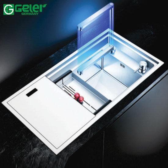 Chậu rửa bát Inox Geler GL-8243E