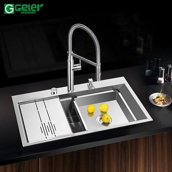 Chậu rửa bát Inox Geler GL-8550