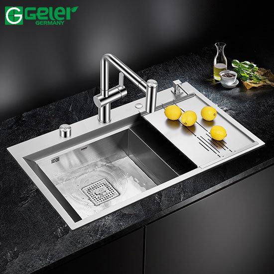 Chậu rửa bát Inox Geler GL-8650