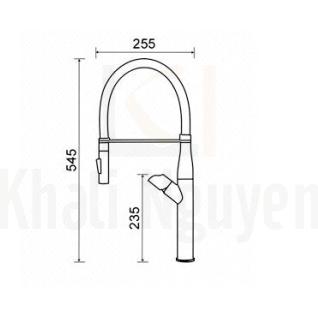 Vòi Rửa Bát Nóng Lạnh Geler GL3059