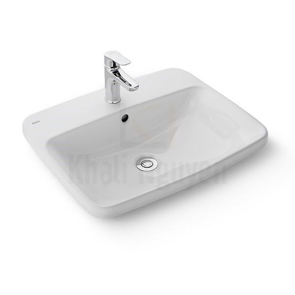 Chậu Rửa Lavabo Inax AL-2398V Đặt Bàn AquaCeramic