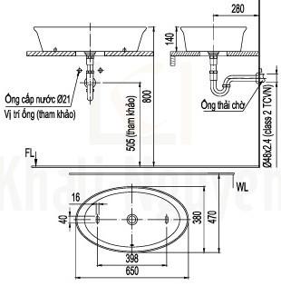Bản vẽ kỹ thuật L-300V