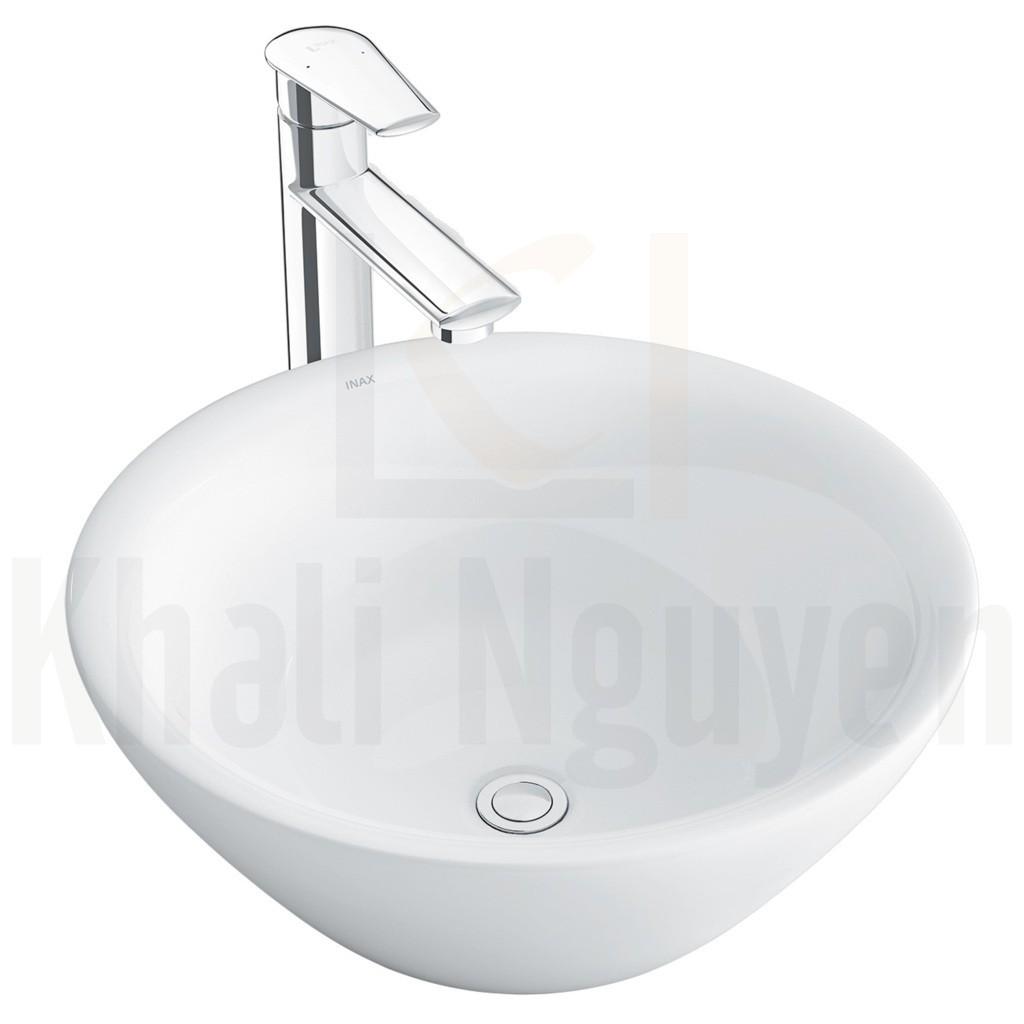 Chậu Rửa Lavabo Inax L-445V (AL-445V) Đặt Bàn Tròn