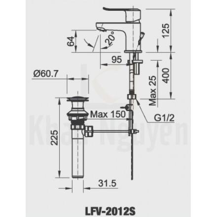 Bản vẽ kỹ thuật LFV-2012S
