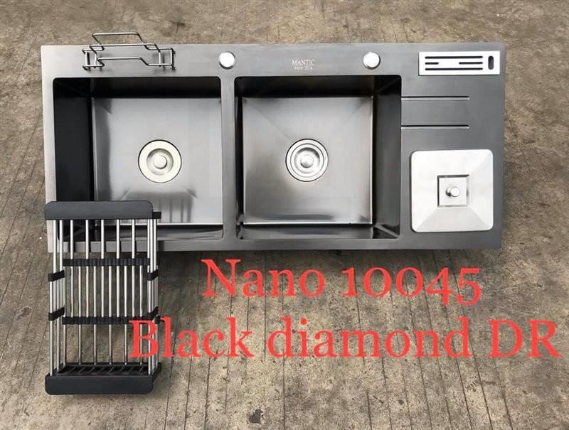 Chậu rửa bát handmade đúc phủ Nano cao cấp Kagol HND10045-RD