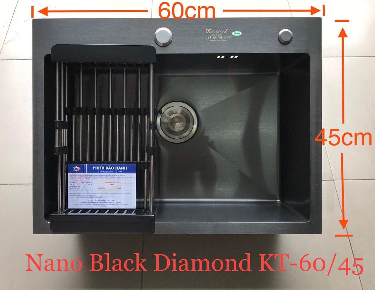 kích thước chậu rửa bát Kagol HND6045