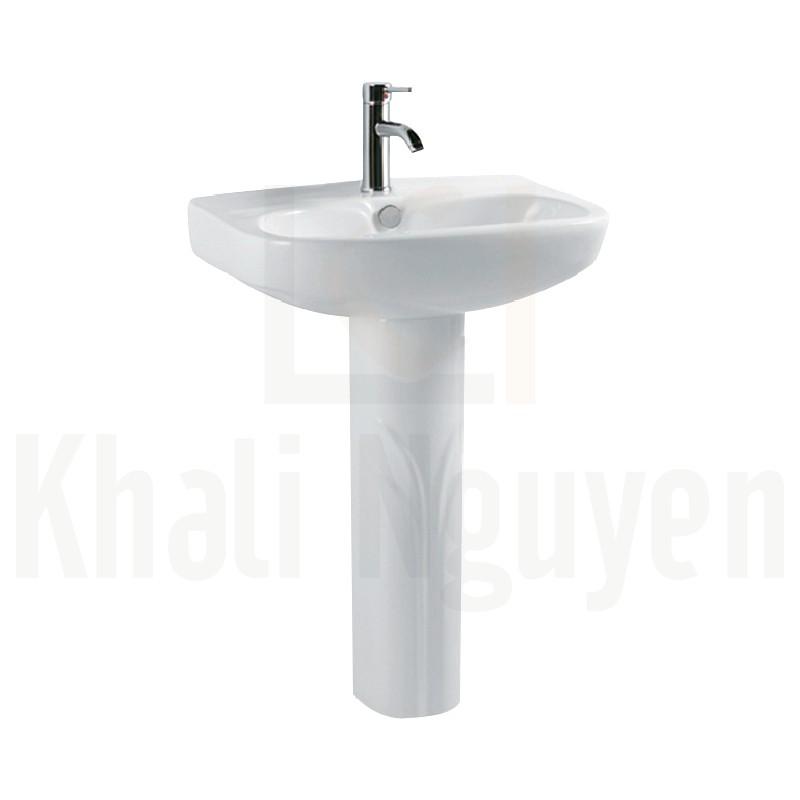 Chân dài chậu rửa treo tường Korest CKR6003VT