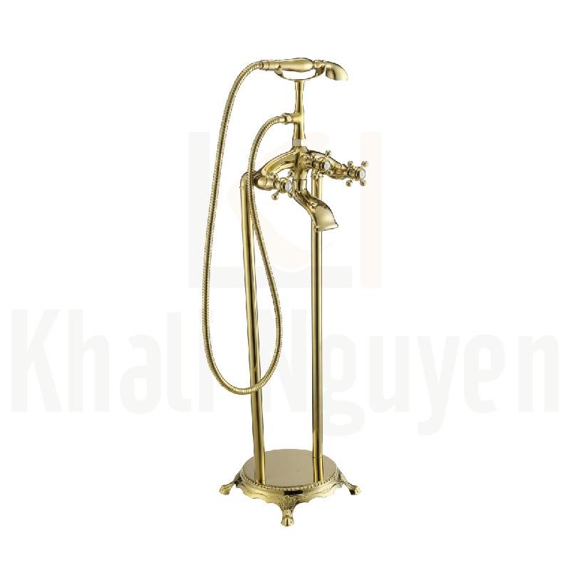 Sen Bồn Tắm Korest KB2603G Đặt Sàn Mạ Vàng