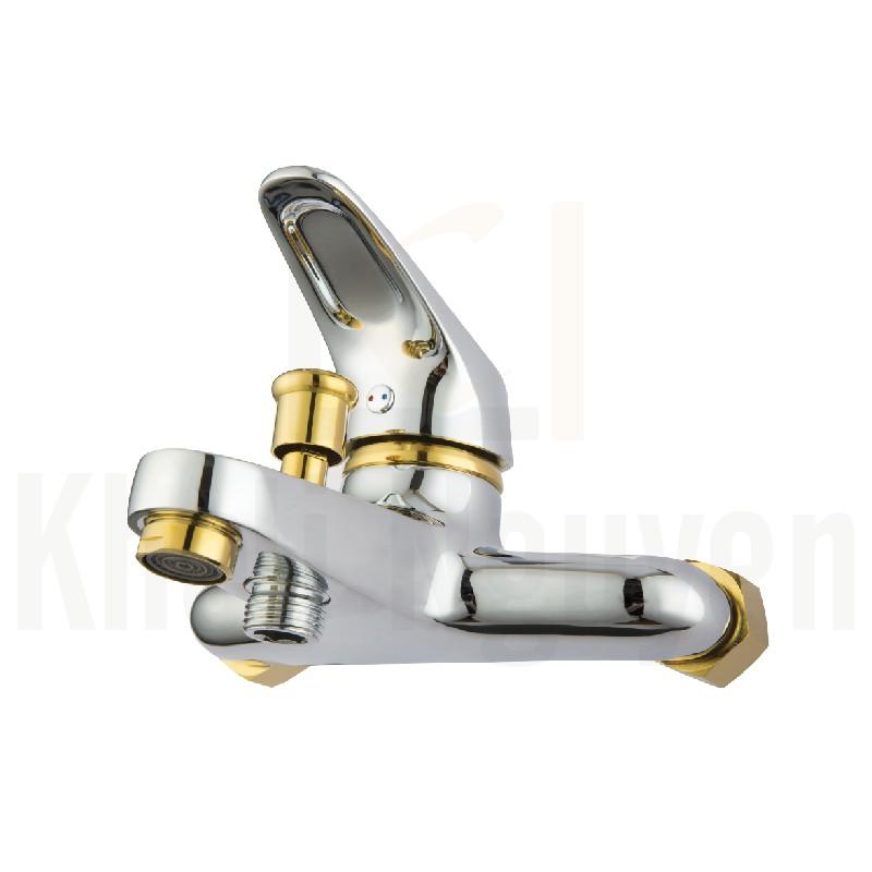 Bộ sen tắm đồng mạ crom korest K3001S-G