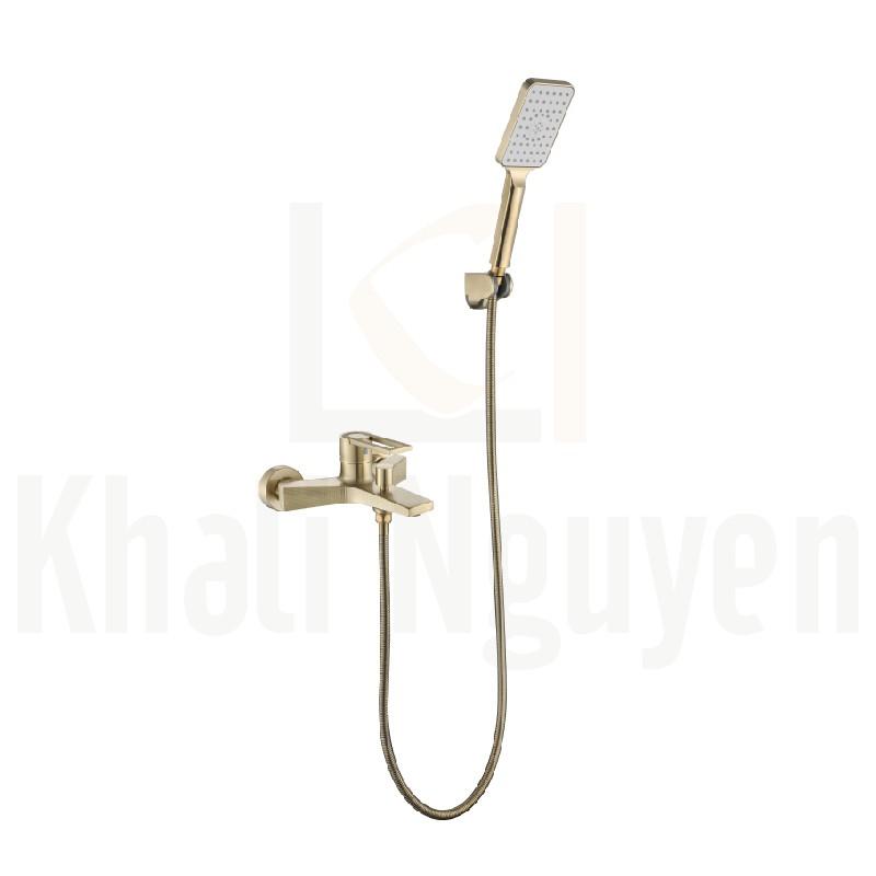 Bộ sen tắm mạ vàng Korest K3024G