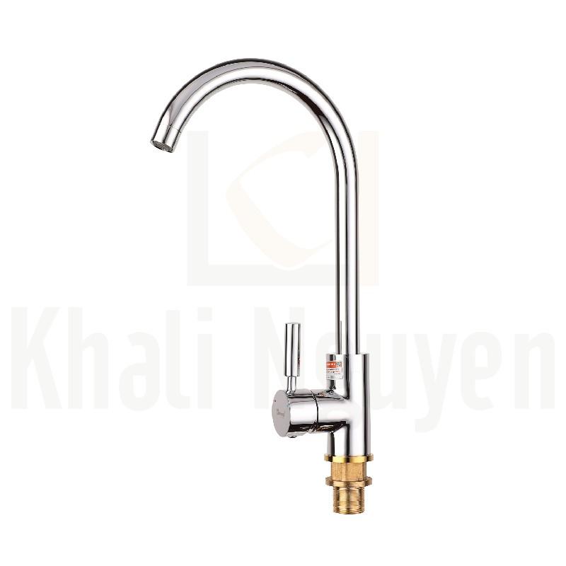 Vòi Rửa Bát Đồng Nóng Lạnh Korest K6001