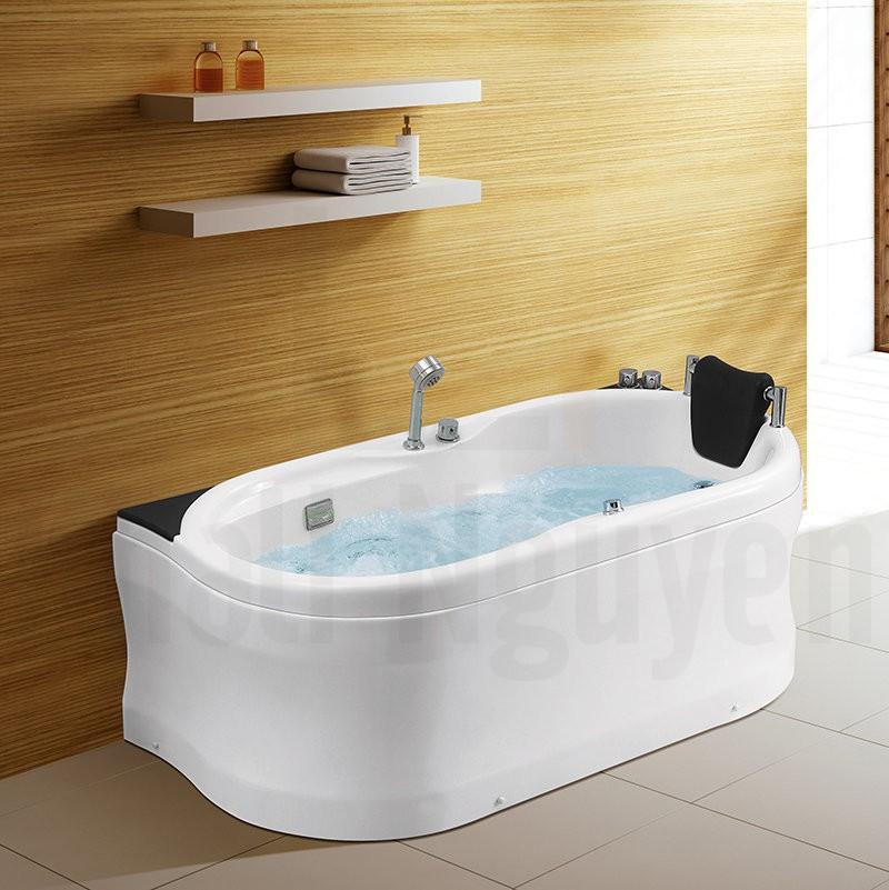 Hình ảnh tổng thể bồn tắm massage NG-1680/1680P