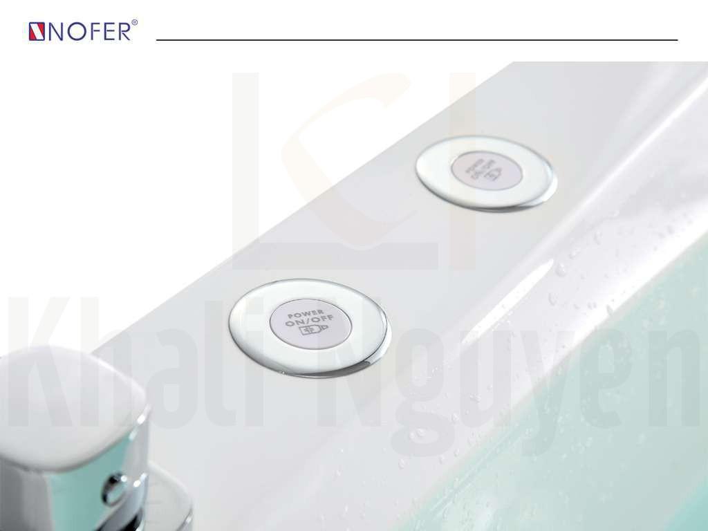 Nút điều chỉnh các mắt sục và sủi trên bồn tắm NG-1821