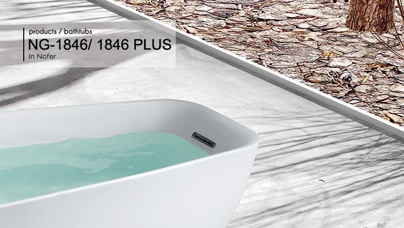 Bồn tắm NG – 1846/ 1846 PLUS