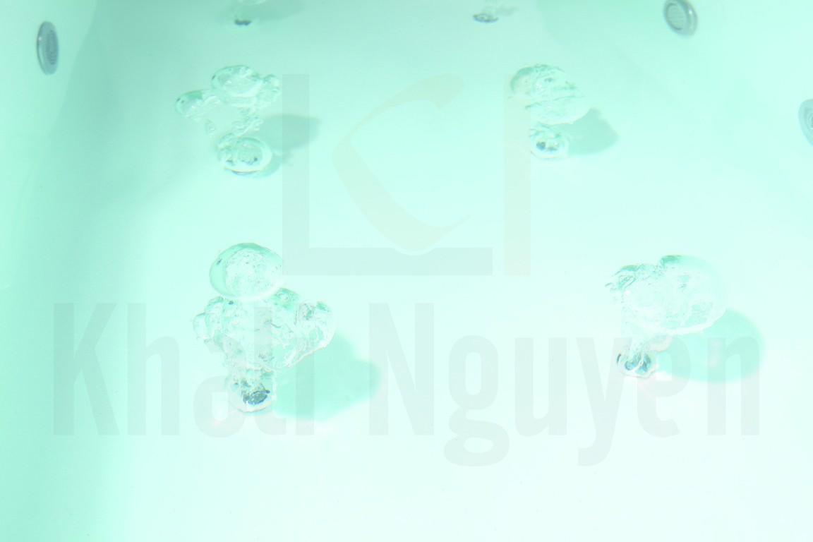 Các mắt sủi khí tích hợp với hệ thống chiếu sáng