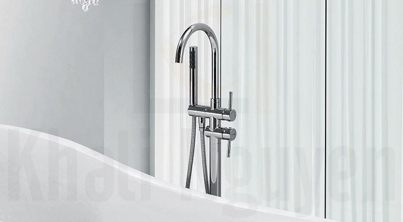 Hệ thống vòi sen và vòi cấp nước trên bồn tắm NG – 1883/ 1883 PLUS