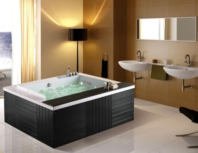Thiết kế đặt sàn của bồn tắm NG-1915D