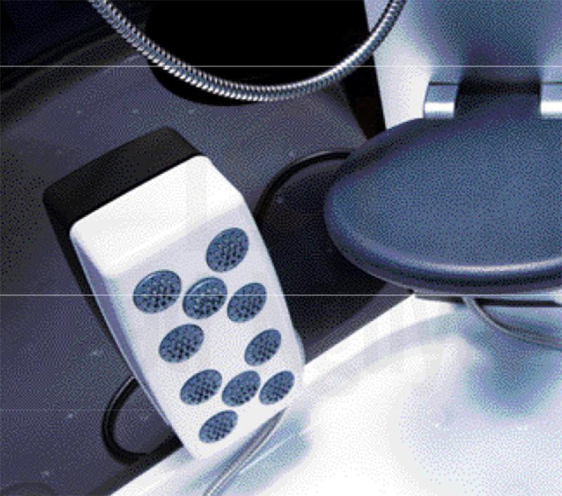 Hệ thống massage chân cùng ghế ngồi của phòng xông hơi NG-2105B