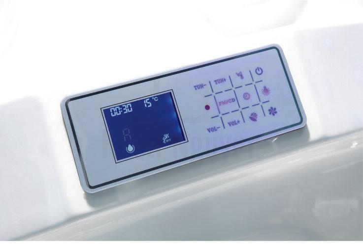 Bảng điều khiển chạm ấn thông minh của phòng xông hơi