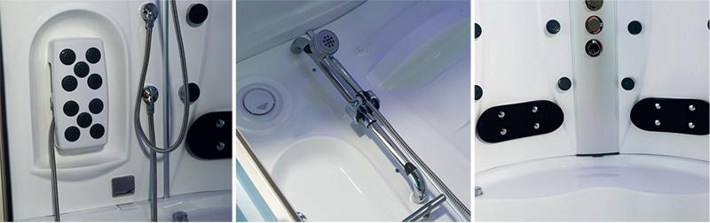 Hệ thống massage của phòng xông hơi NG-2160