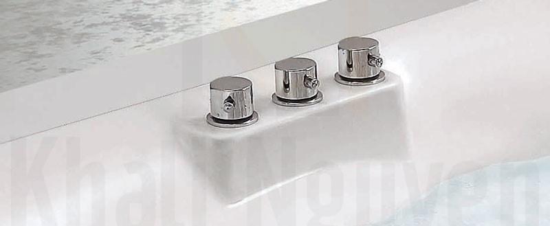 Van điều chỉnh sen tay vào vòi cấp nước của bồn tắm NG-3140D/ 3140DP