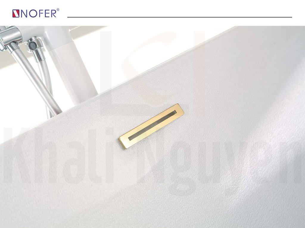 Thiết kế âm sàn của bồn tắm massage NG-3160D