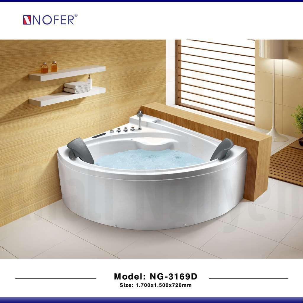 Hình ảnh tổng thể của bồn tắm massage NG-3169D