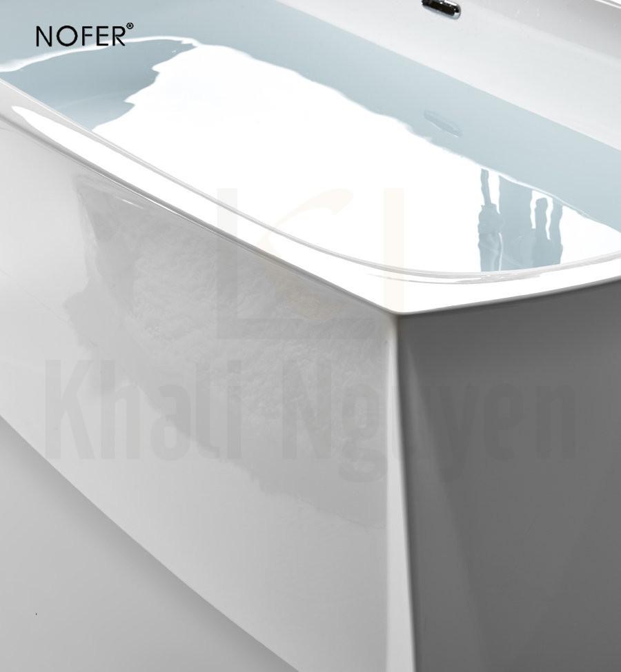 Mặt bồn tắm NG-61110B với sắc trắng tinh tế
