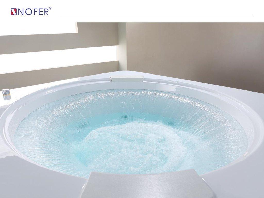 Bồn tắm masage NG-7400DG tạo thác khi hoạt động