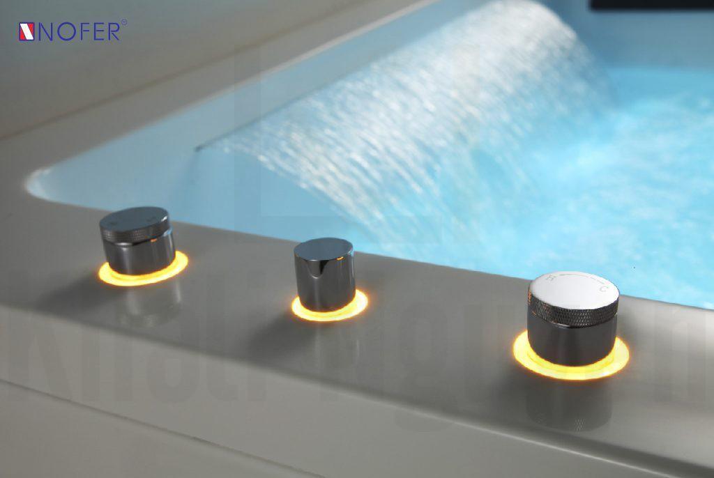 Bộ điều khiển vòi sen của bồn massage NG-7550DG