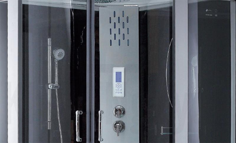 Bảng điều khiển cùng các chức năng khác của phòng xông hơi NG-8120