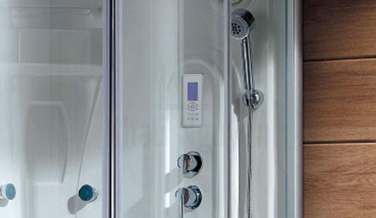 Sen tắm và bảng điều khiển của phòng xông hơi NG-953