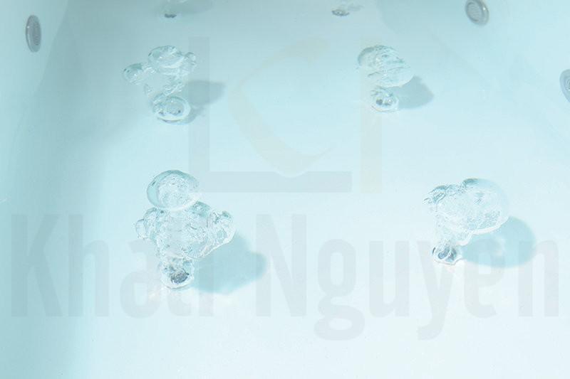 Hệ thống sủi bọt của bồn tắm massage NG-DE002/DE002P
