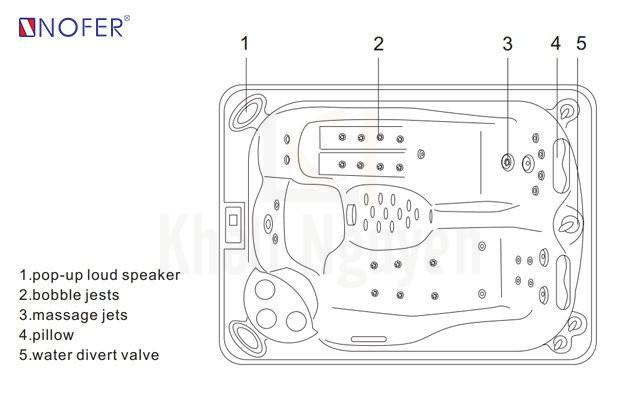 Bồn tắm SPA-016