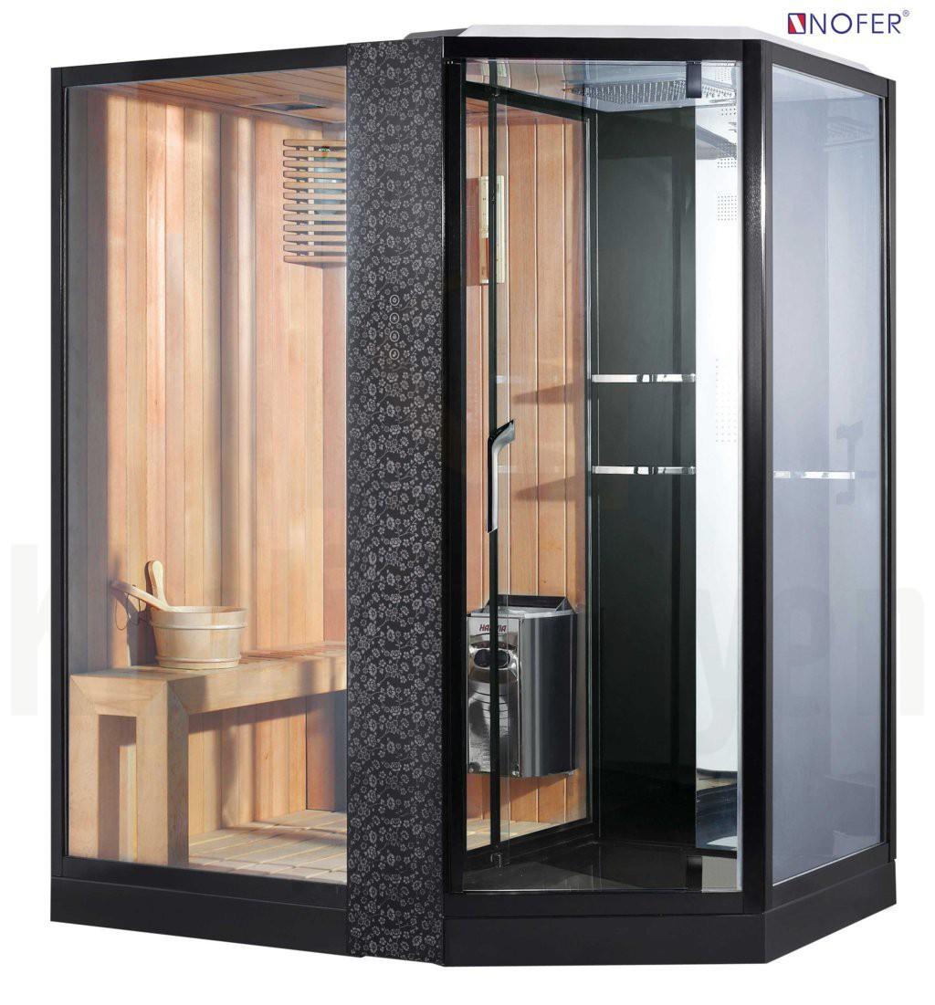 Phòng xông hơi VS-89103S màu đen