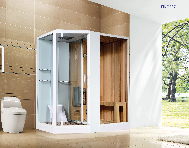 Phòng xông hơi VS-89103S màu trắng