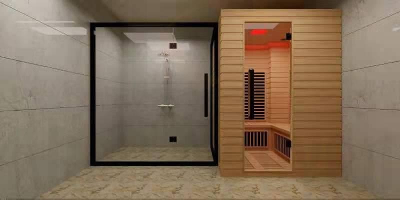 Phòng tắm xông hơi Rangos RG-801