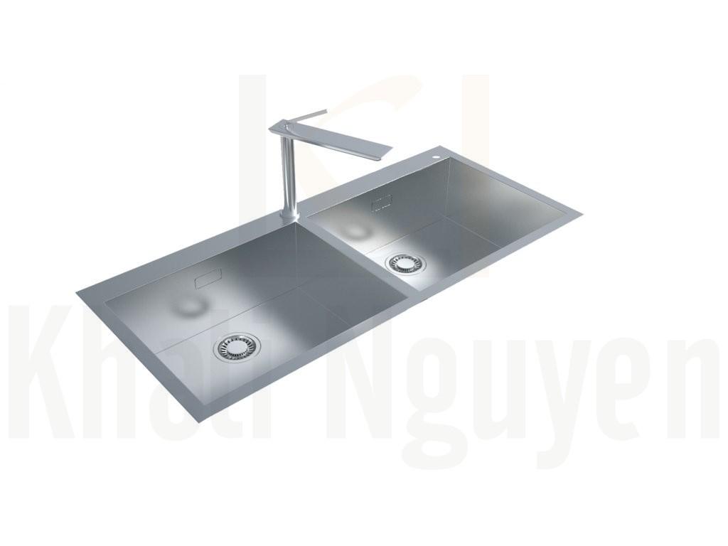 Chậu rửa bát Inox Rangos RG-8245CO