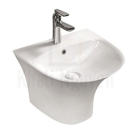 Chậu rửa liền chân Rangos RG-6108